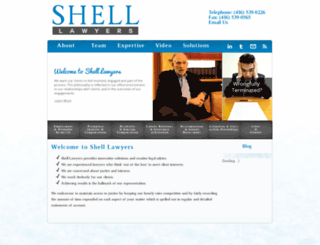 shelllawyers.ca screenshot