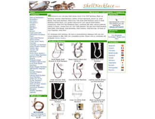 shellnecklace.net screenshot