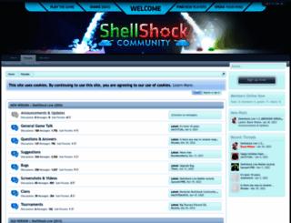 shellshockliveforums.com screenshot