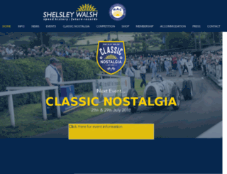 shelsley-walsh.co.uk screenshot
