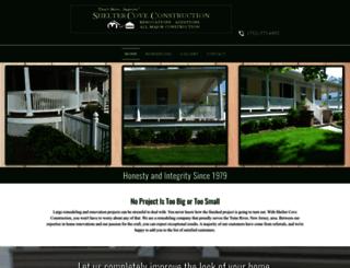 sheltercoveconstruction.com screenshot
