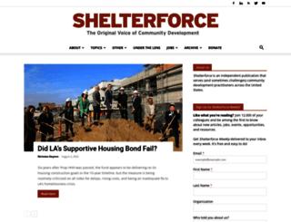 shelterforce.com screenshot