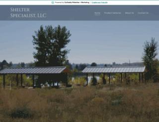 shelterspecialist.net screenshot