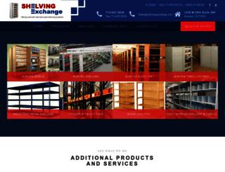 shelvingexchange.com screenshot