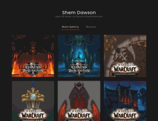shemdawson.com screenshot