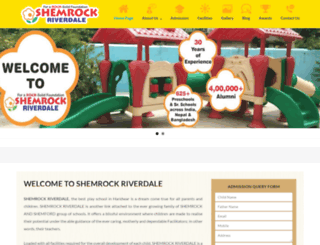 shemrockriverdale.com screenshot