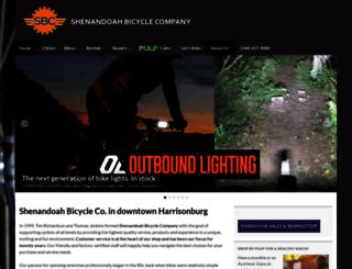 shenandoahbicycle.com screenshot