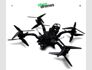 shendrones.com screenshot