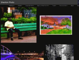 shentonphoto.com screenshot