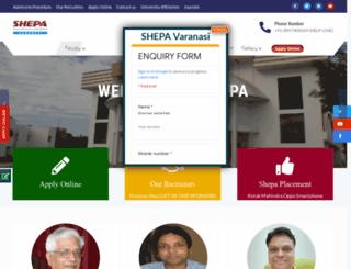 shepa.org.in screenshot