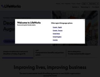 shepellfgi.com screenshot