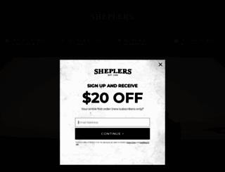 sheplers.com screenshot