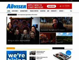 sheppartonadviser.com.au screenshot