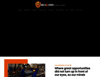 sheraenergy.com screenshot