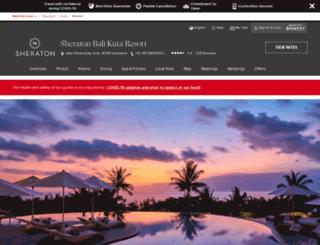 sheratonbalikuta.com screenshot