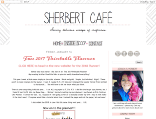 sherbertcafe.blogspot.com screenshot