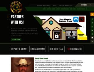 sheriff.mesacounty.us screenshot