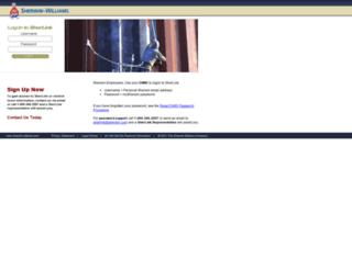 sherlink2.sherwin.com screenshot