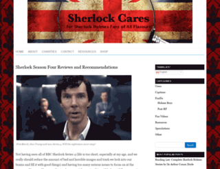sherlockcares.com screenshot