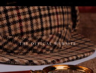 sherlockholmes.com screenshot