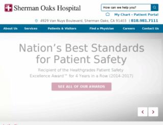 shermanoakshospital.com screenshot