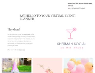 shermansocial.com screenshot