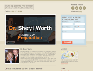 sherriworthimplants.com screenshot