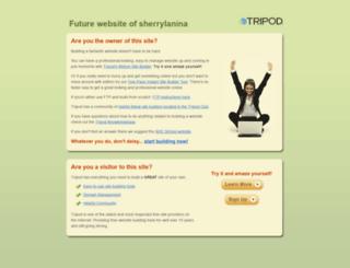 sherrylanina.tripod.com screenshot
