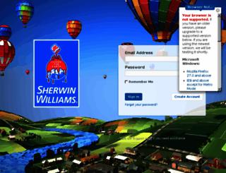 sherwinwilliams.widencollective.com screenshot