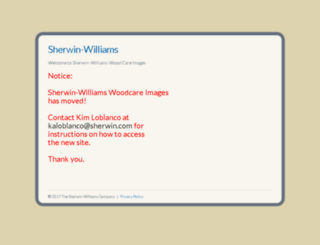 sherwinwilliamswoodcareimages.com screenshot