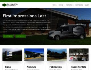 sherwoodcompany.net screenshot
