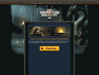 sherwooddungeon.com screenshot