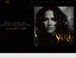 sherylcrow.com screenshot