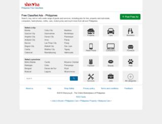 sheryna.ph screenshot