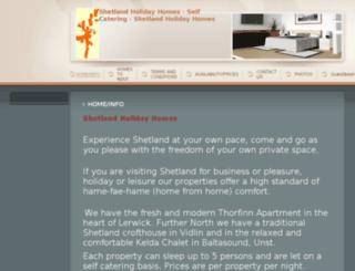 shetlandholidayhomes.com screenshot
