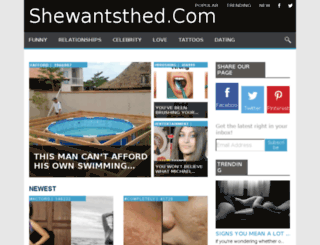 shewantsyoubro.com screenshot