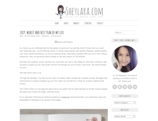 sheylara.com screenshot