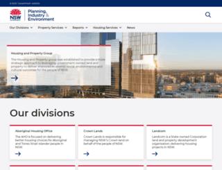 shfa.nsw.gov.au screenshot