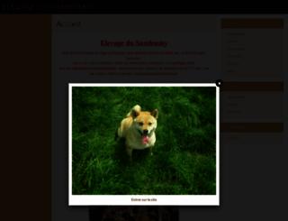 shiba-inu-belgique.e-monsite.com screenshot