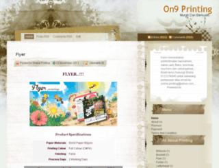shielaprinting.blogspot.com screenshot