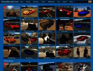 shieldarcade.com screenshot