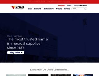 shieldhealthcare.com screenshot