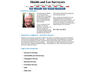 shieldsandlee.com screenshot
