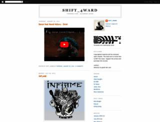 shift4ward.blogspot.com screenshot