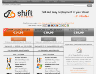 shifttothecloud.com screenshot