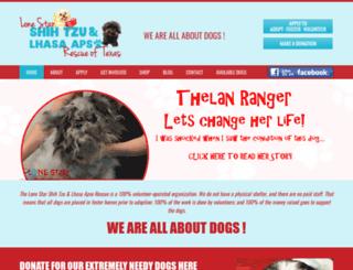shihtzu-rescue.com screenshot