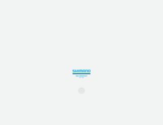 shimano.com screenshot
