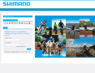 shimanoshop-eu.com screenshot