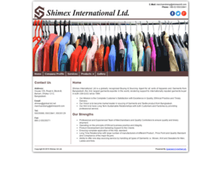 shimexintl.com screenshot