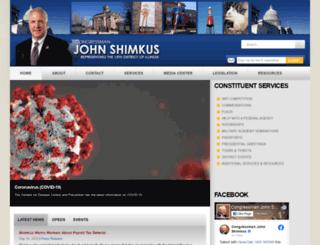 shimkus.house.gov screenshot